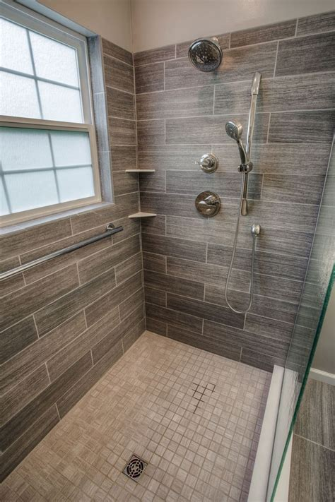 Bathroom Remodel Tile Shower Best 25 Wood Tile Bathrooms Ideas On Pinterest Wood Floor Bathroom Wood Tile Bathroom Floor