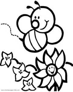 bee coloring page bee coloring pages bees on the net