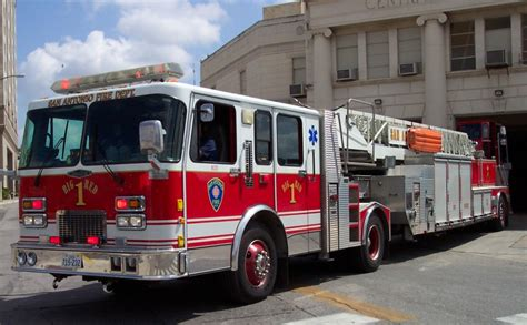 Truck Attorney San Antonio 1 by Orange County Fd Squad 6 Tillered Rescue Elightbars