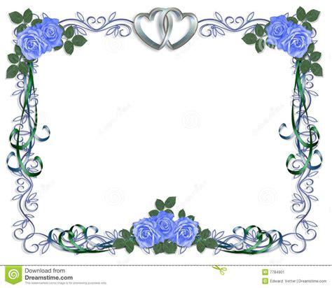 Wedding Invitation Border Designs Royal Blue by Wedding Invitation Blue Borders Matik For