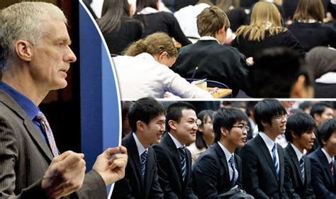 Is Near The Edge Experts Say by Uk Youngsters Lack Grit Giving China And Japan The Edge
