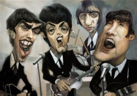 imagenes extrañas de los beatles los beatles en caricatura ignacio segesso