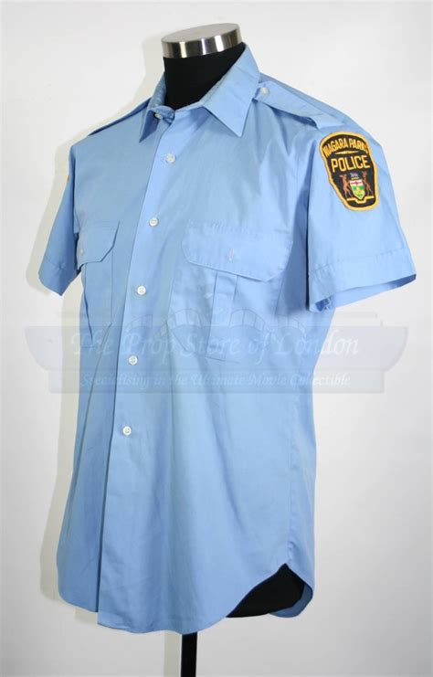 police shirt niagra falls police shirt prop store ultimate movie