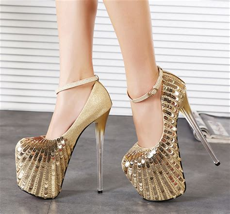 gold high heels shoes get cheap prom shoes gold aliexpress alibaba