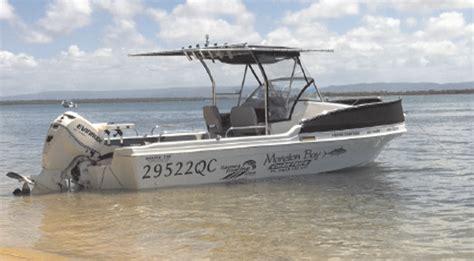fishing boat hire moreton bay moreton bay charters bush n beach fishing magazine