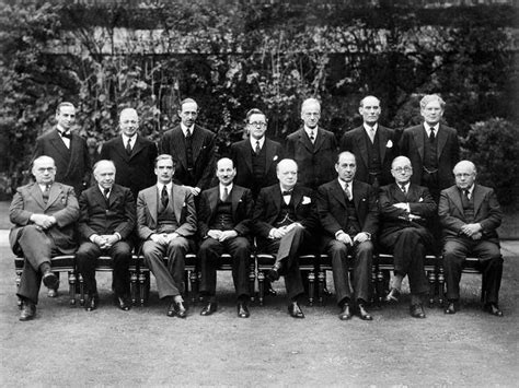 Winston Churchill Cabinet 26 july 1945 winston churchill falls from power