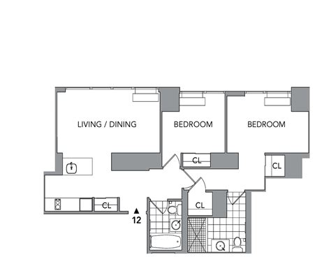 silver towers floor plans silver towers 620 west 42nd st nyc rentals manhattan