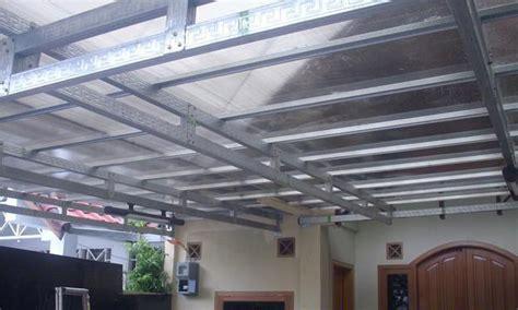 atap rumah rangka baja