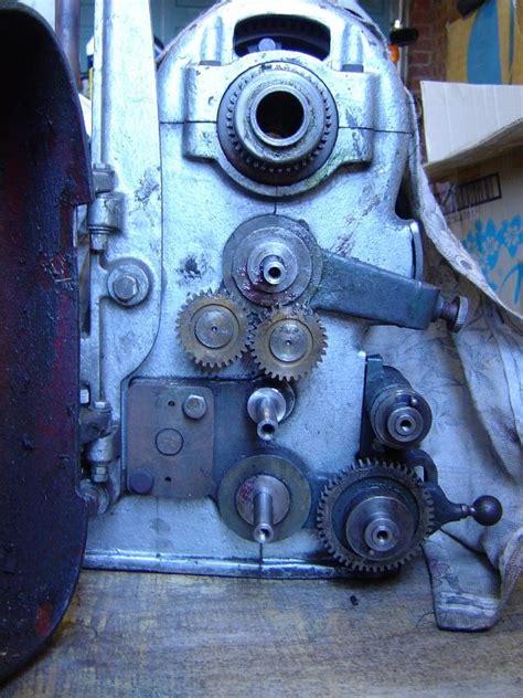 One 07 Raglan raglan littlejohn lathe rebuild lathe number one
