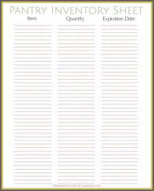 grocery inventory template best 25 pantry inventory printable ideas on