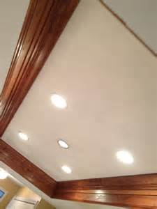 Under Cabinet Kitchen Lighting Led Crown Molding And Recessed Lighting