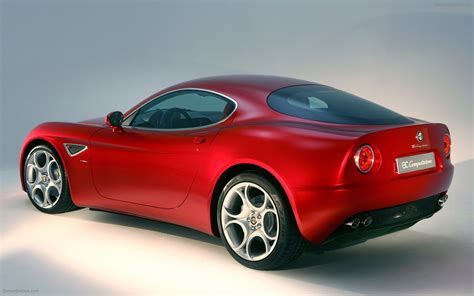 Alfa Romeo 8C Competizione Widescreen Exotic Car Pictures #036 of 83 : Diesel Station