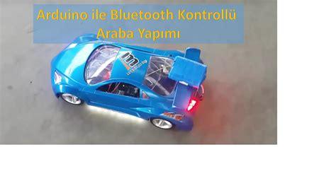 arduino ile bluetooth kontrollue araba yapimi roboturkacom