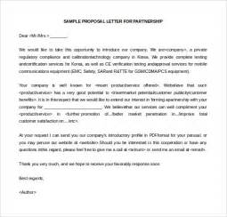 Letter Of Intent On Partnership Service Letter Sle Business Letter For Printing Services Letter Format