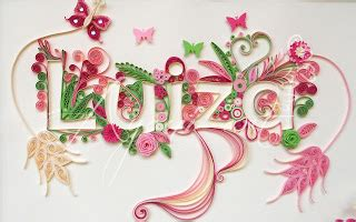 typography quilling tutorial ayani art quilling typography tutorial