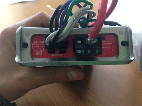 rockford fosgate punch 800a2 wiring diagram rockford
