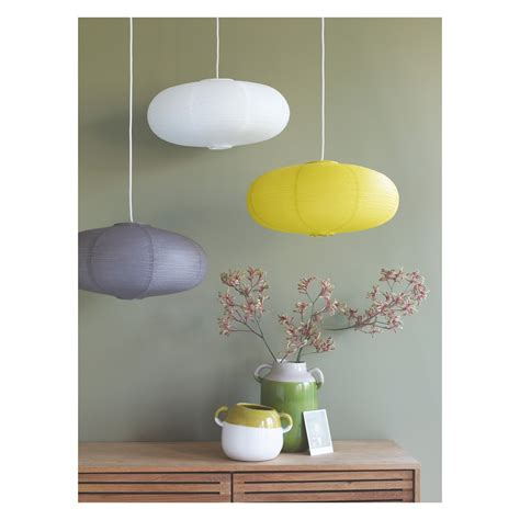 shiro yellow paper easy to fit ceiling shade yellow