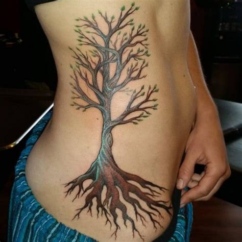 tree roots tattoo 125 tree tattoos on back wrist with meanings