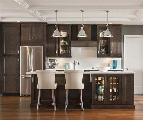 Kitchen Lighting Ideas Over Island by Dark Gray Kitchen Cabinets Aristokraft Cabinetry