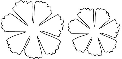 pattern for cardstock paper flowers how to make multi layered paper flowers by hand offbeat