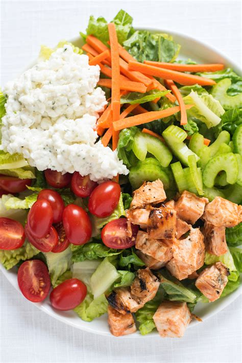Salad Cottage Cheese by Buffalo Chicken Salad With Ranch Cottage Cheese Foxes