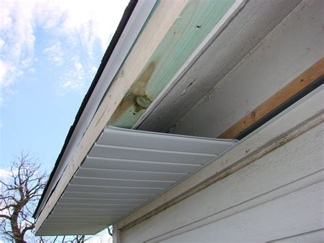 House Building Estimate by Aluminum Soffit Amp Fascia Installation Hicksville Ohio