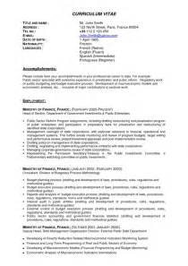 resume templates for experienced it professionals amazing resume sles for experienced it professionals