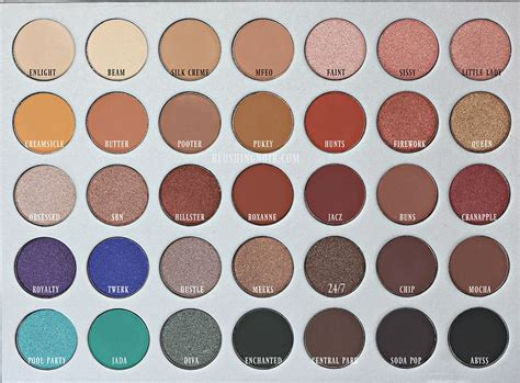 Morphe X Hill Palette morphe x hill eyeshadow palette we makeup