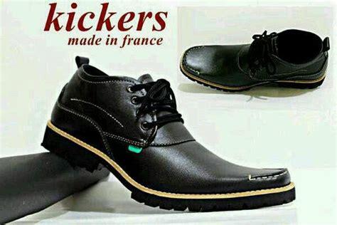 Sepatu Murah Kickers Semi Boots Soldado Kulit Hitam jual sepatu kickers cek harga di pricearea