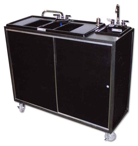 portable 3 compartment sink low water pressure in sink portable 3 compartment with
