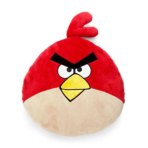 Angry Pillow by Angry Birds Pillow Fabrics