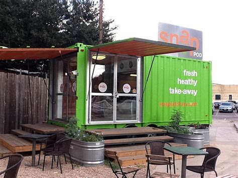Shipping Container Kitchen by The Snap Kitchen A Shipping Container Bolt On To