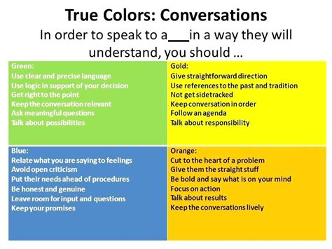 true colors orange what color are you gold blue green orange 9 what true