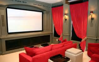 home theater interior hanging curtains with valances newhairstylesformen2014