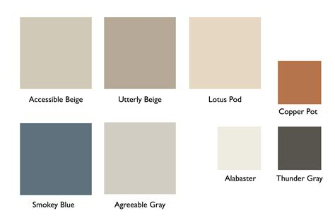 color palette for house interior sherwin williams birds of berwick