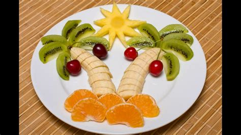 fruit decorations fruit decoration in plate