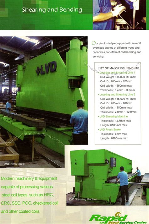 machinery and equipment philippines