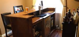 Home Bar Tap Home Bar Plans With Kegerator Plans Diy Free