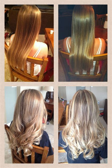 haircuts etc redlands blonde balayage highlights on dark hair www imgkid com