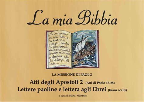 lettere agli ebrei atti degli apostoli 2 lettere paoline e lettera agli