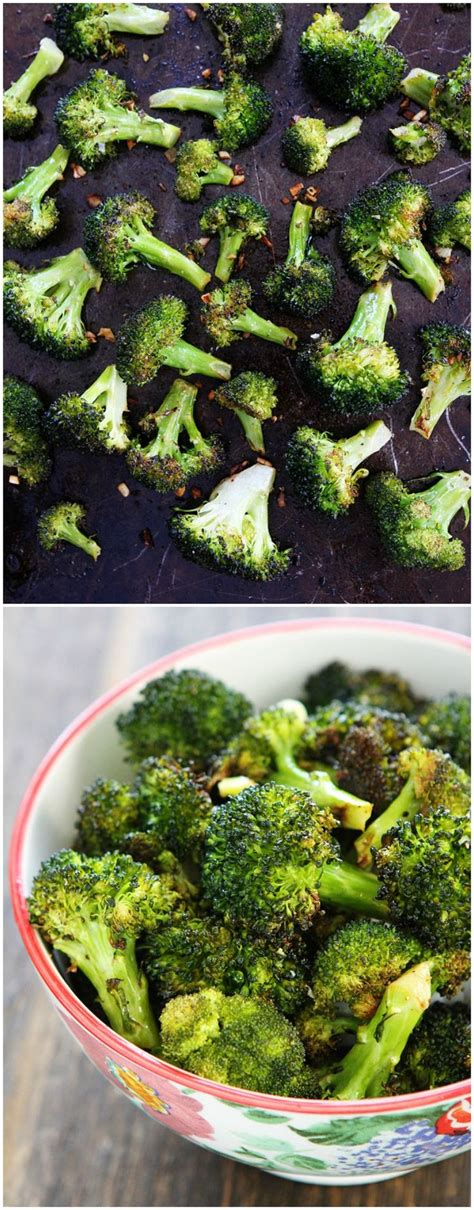recipe garlicky roasted broccoli quick side dish best 25 roasted broccoli recipe ideas on pinterest