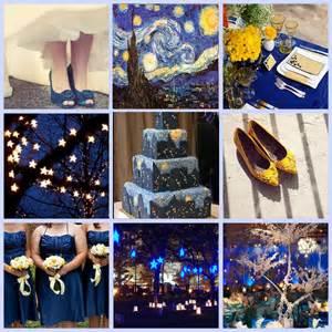 starry starry night wedding theme