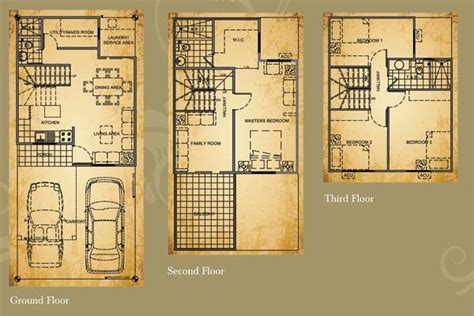 house design in philippines with floor plan bellefort estates cavite real estate in philippines houses in the philippines house in
