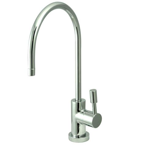 Water Faucets Kitchen Kingston Brass Replacement Water Filtration Faucet In Chrome For Filtration Systems