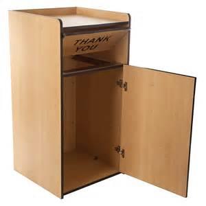 Kitchen Trash Can Storage Cabinet Update International Wru 35 35 Gal Restaurant Waste