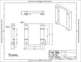 cad drawing p13621 build test document