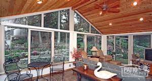Four Seasons Patio Rooms 3 Differences Between 3 Season Sunroom And 4 Season