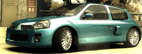 renault clio v6 nfs carbon image nfs most wanted renault clio v6 jpg at the need