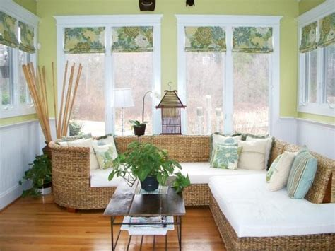 Design For Wicker L Shades Ideas 9 Creative Patterned Shades Hgtv