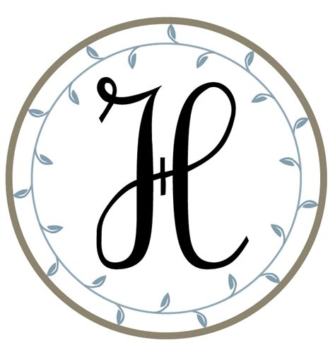 printable alphabet monograms the hand me down house monograms